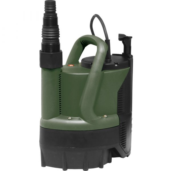 PUMP SUBMERSIBLE CELLAR PUDDLE WITH INTERNAL FLOAT
